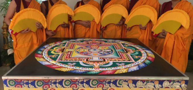 Monjes budistas construirán mandala y realizarán cánticos por la Paz de Venezuela