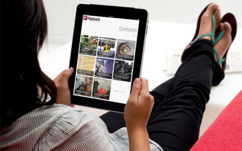 Flipboard: una aplicación útil para mujeres