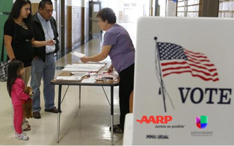 AARP y Univisión: Empleo, economía e inmigración los temas más importantes de los votantes