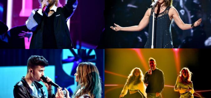 "Artistas listos para los ""Latin American Music Awards"" 2018"