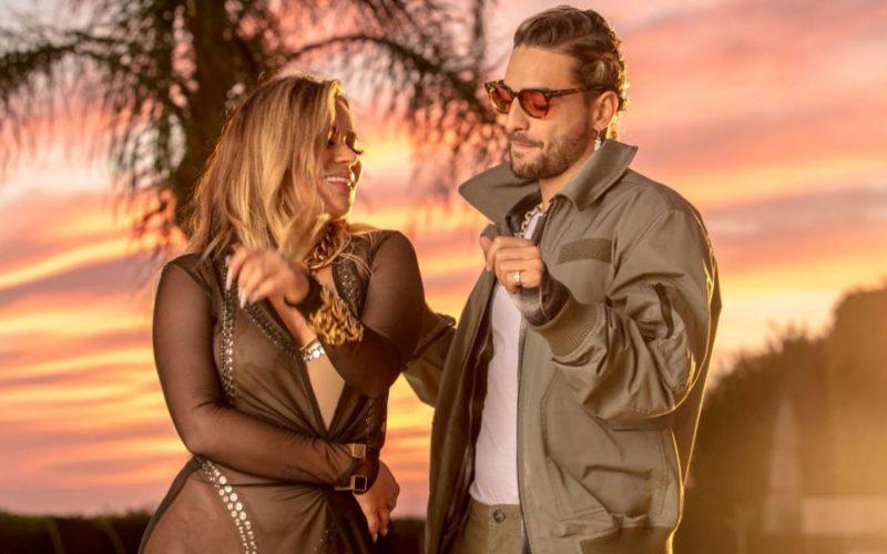 """Karol G y Maluma derrochan sensualidad en el videoclip de """"Créeme"""""""
