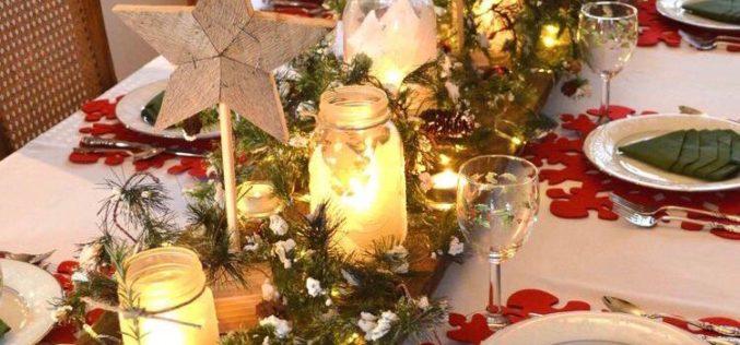 ¿Cómo decorar una mesa de Navidad?