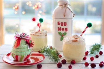 El Eggnog, una bebida clásica navideña