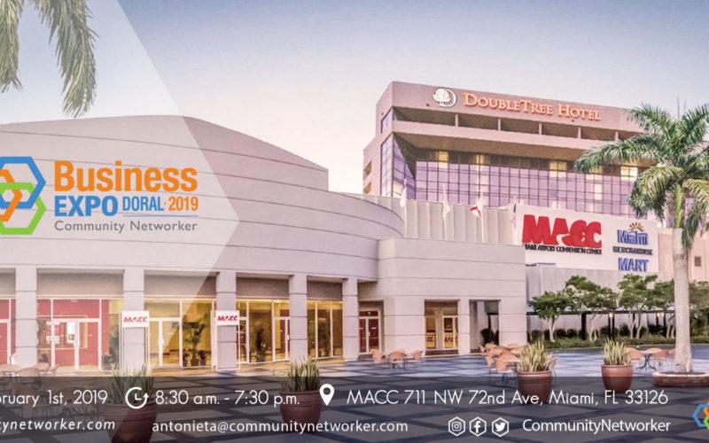 Community Networker presenta innovaciones en Expo Doral 2019
