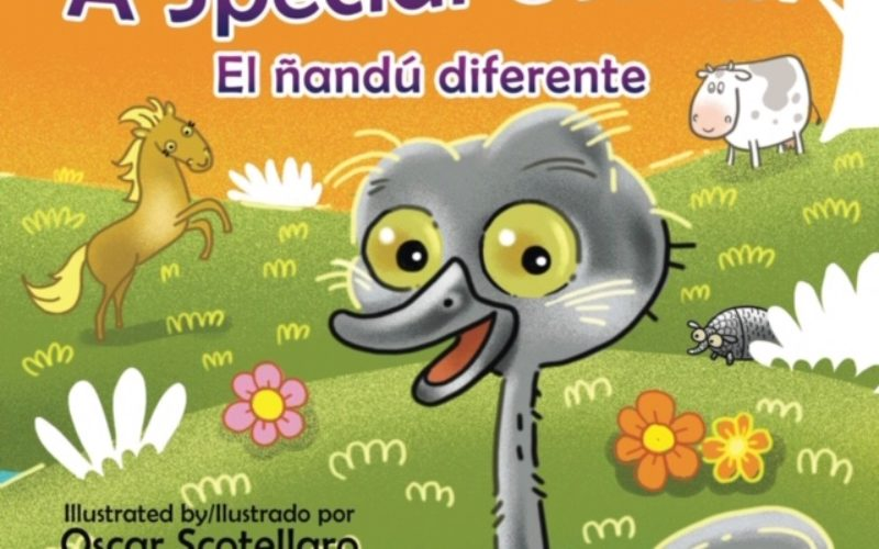 Lorena C. Brown lanza libro infantil bilingüe El Ñandú diferente/A Special Ostrich
