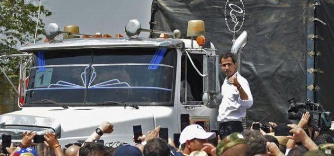 """Venezuela: """"Ya viene la ayuda humanitaria"""""""