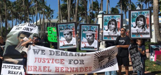 """Preparan filme sobre el caso de abuso policial contra Israel """"Reefa"""" Hernández en Miami"""