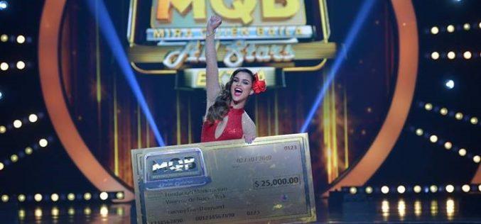 "Clarissa Molina gana ""Mira Quién Baila All Stars"""