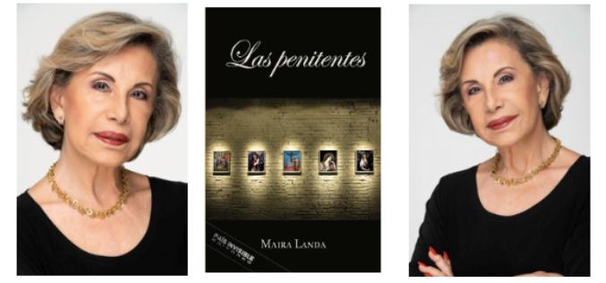 La escritora Maira Landa regresa con Las Penitentes