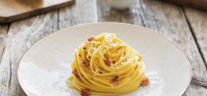 Celebrando el #CarbonaraDay con una receta del chef Lorenzo Boni