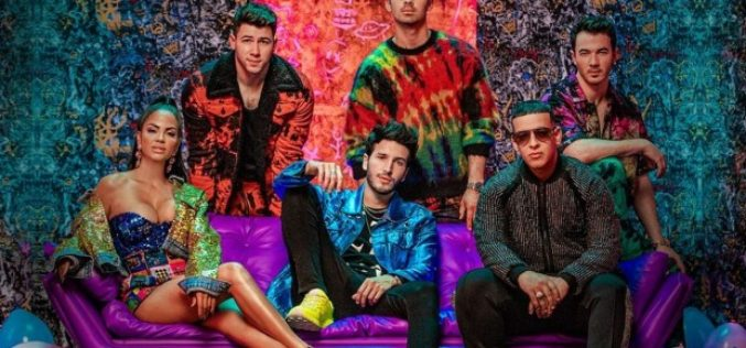 "Sebastián Yatra, Daddy Yankee, Jonas Brothers y Natti Natasha juntos en ""Runaway"""