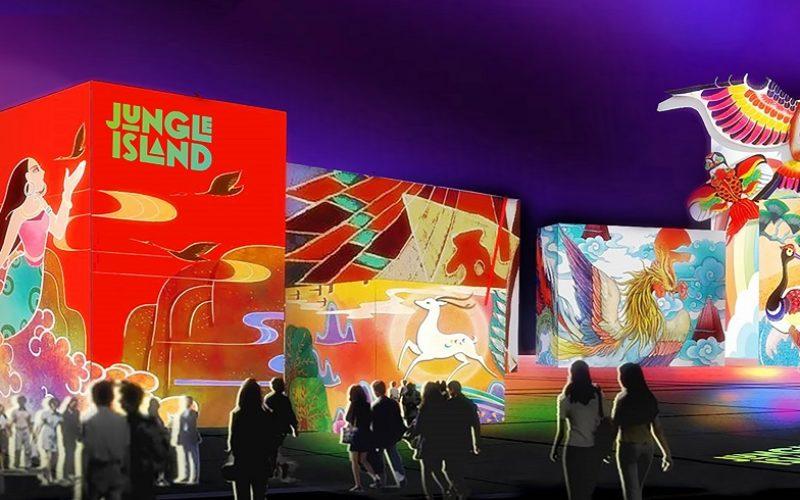 """Jungle Island cobra protagonismo con """"Luminosa, Festival of Lights"""""""