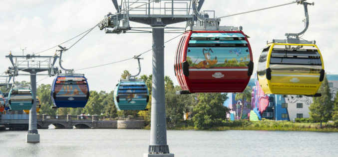 ¡Hay magia en el aire con el nuevo Skyliner de Disney!
