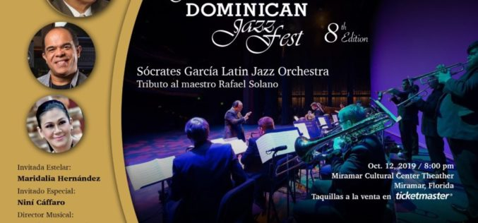 South Florida Dominican Jazz Fest se realizará este sábado 12 de octubre