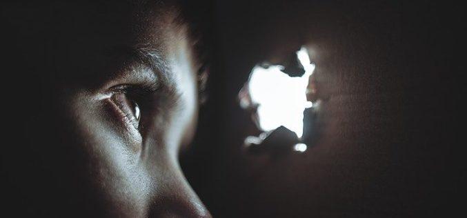 Un ojo suave en la oscuridad, un poema de Eduardo Escalante