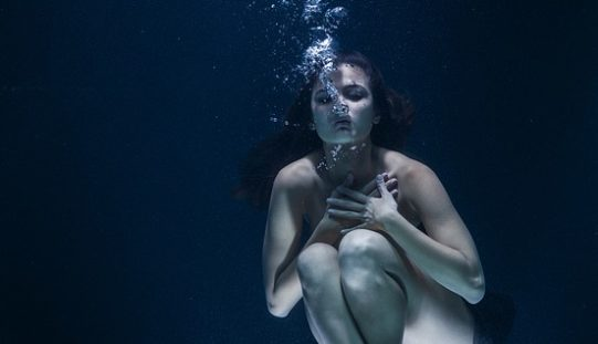El rostro de las aguas, un poema de Eduardo Escalante